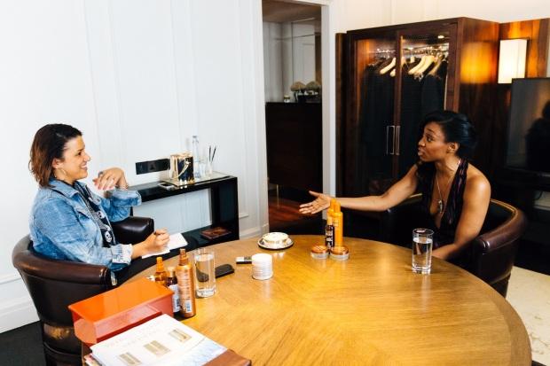 Mizani press launch to announce Beverley Knight as brand ambassador
